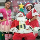 Personaje De Santa Claus Para Entregas De Juguetes Y Mas