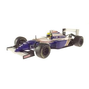 Miniatura Fórmula 1 Williams Fw16 Ayrton Senna 1994 Ixo 1/43