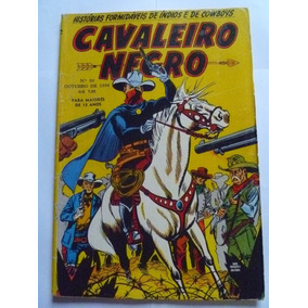 Cavaleiro Negro Nº 50 Outubro 1956 Rge Ótimo!