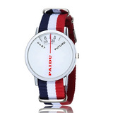 Reloj Paidu Mod. Pasado/futuro Correa De Nylon Japones