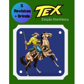 5 Hqs Tex Edição Histórica A Escolher + Brinde