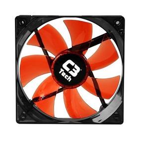 Cooler Fan Storm Series F7 C3 Tech 8cm Led Vermelho