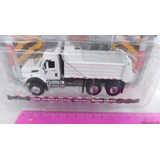 Camion Volqueta International Escala 1:64 Metalica 12cms