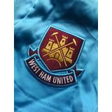 Calção De Futebol West Ham United Football Iron Maiden Raro 5bfcec91728b2