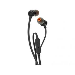 Fone De Ouvido Jbl Intra-auricular Com Microfone Preto T110