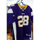 Camisa Nfl Adrian Peterson Vikings Hall Fame Nfl Espn Oferta