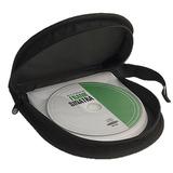 Estuche Porta Cd Dvd Tapa De Goma Para 24 Cd Pack X 10