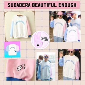 Sudadera Beautiful Enough - Rap Monster