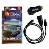Dongle Miracast Global Cast 1080p Wifi - Garantia Jck Mdp