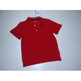 Camisa Camiseta Polo Tommy Hilfiger Infantil Original 4 Anos 3ae0e3cbe18