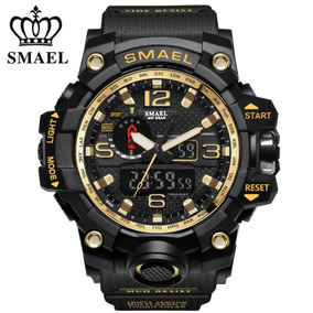 Relógio Militar Smael Analógico Digital Shock Super Barato