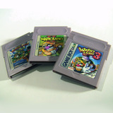 Saga Completa Warioland Gameboy Color - 3 Cartuchos Inglés