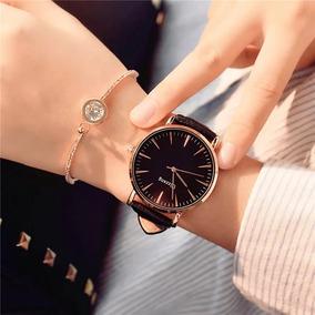 Reloj Dama Ulzzang Fashion Color Negro