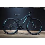 Bicicleta 29 Feminina Oggi Float Sport 21v (2018) Azul/preto