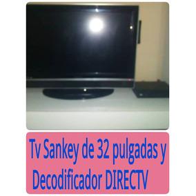 Televisor Sankey De 32 Con Decodificador Digital De Directv