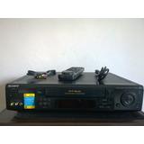 Videocasetera Vhs Sony Mod. Slv - 998hf Con Jog & Mouse