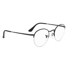 e4b391e844651 Oculos De Grau Ray Ban Redondo - Óculos Preto no Mercado Livre Brasil