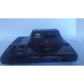 8c9dece1785ec Mega Drive + Adaptador Master System + 2 Controles + Jogos