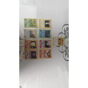 Coleção Cartas Pokémon Antigas Pkmntcg