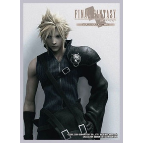 Final Fantasy 7 Cloud Deck Protector Sleeves Mtg Pokemon