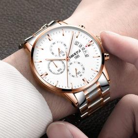 Relógio Original Nibosi 100% Funcional Cronóg À Prova D