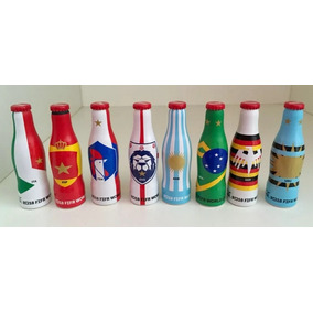 Mini Botellas Coca Cola Mundial Rusia 2018 Los 8 Llaveritos