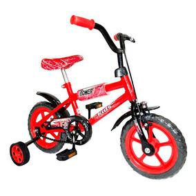 Bicicleta Rodado 12 Bronco 242 Roja