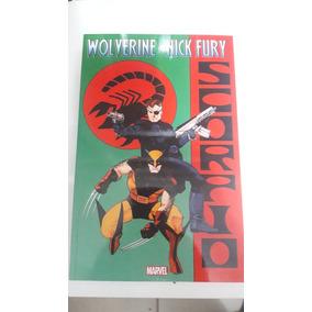 Wolverine & Nick Fury Scorpio Em Ingles