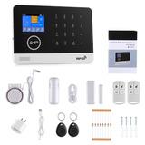 Kit Alarma Wifi Gsm Panel Touch Alarma Sensores Casa Negocio