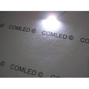 5x Micro Led Smd 335 Super Branco Iluminação Lateral Deitada
