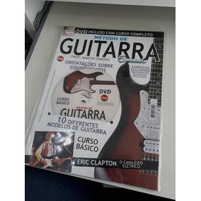 Método De Guitarra Com Dvd Incluso Com Curso Completo