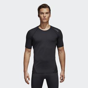 Camiseta Térmica adidas Alphaskin Running Para Hombre 9e8e713a9fe78