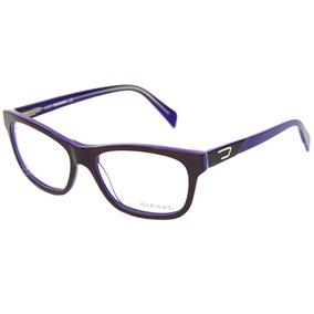 9d2e08c061d34 Armacao Oculos Feminino Diesel - Óculos no Mercado Livre Brasil