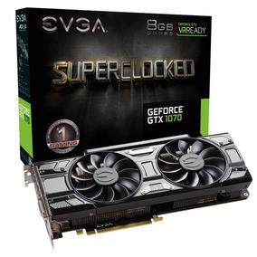 Placa De Video 6gb Gtx 1060 Evga Superclocked Acx 2.0- Comer