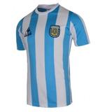 316de5e9e3 Camisa Retro Argentina 1986 - Camisas de Futebol no Mercado Livre Brasil