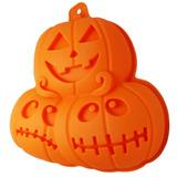 Molde Silicon Hornear Halloween Figura Calabazas