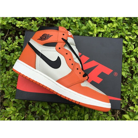 Tenis Jordan 1 Orange White