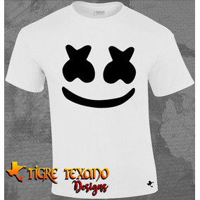 Playera Dj Marshmello Music Mod 01 By Tigre Texano Designs