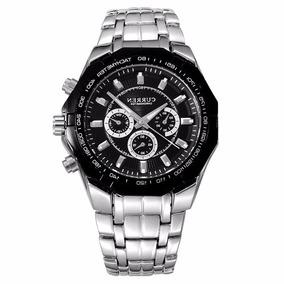 Reloj Acero Cuarzo Caballero Fashion Threeeyewatch