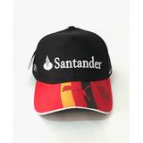 Boné Ferrari Aba Curva Santander Barato Fita Fitão F1 53bac20d5ab