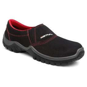 Sapato Segurança Microfibra Preto Estival Wo10021s2 Ca 31090