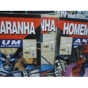 Homem Aranha Ano Um (1 Ao 3) Completo Ed. Abril 1997 Marvel