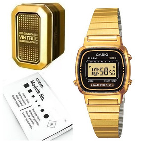 5894668eda9f Reloj Casio Vintage La670 Hombre - Reloj de Pulsera en Mercado Libre ...