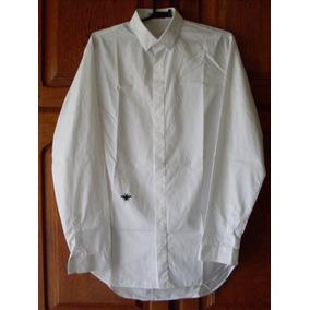 c4a26038c1 Camisa Dior Masculina Bee Embroidery Poplin Original T 37