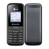 Celular Lg B220 Dual Sim 32mb Tela De 1.45 - Preto Lacrado