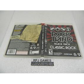 Rock Band Classic Rock Original Midia Fisica Completa Ps3