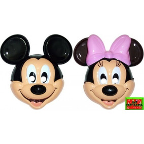 Kit Com 10 Máscara Mickey