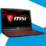 Acp - Gaming Msi Gl63 I7 8750h 8va 16gb 1tb Ssd Gtx1060 6gb