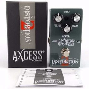 Pedal Axcess Distortion Ds 102 Novo C/ Manual/ Caixa+ Brinde