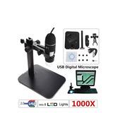 Microscopio Digital Usb Con Base 100x Y Luz